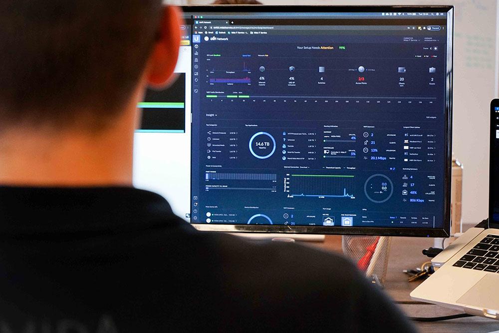 monitor netwerkbeheer mida it service